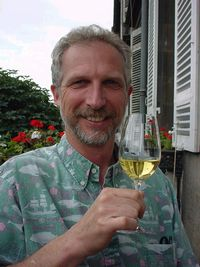 "Peter ""at home"" in Bordeaux"