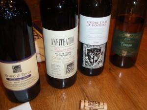 Vecchie Terre's range of wines