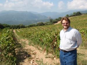 Marc Imbart in his Torraccia vineyards